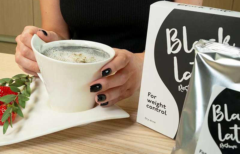 Tazza da bibita Black Latte